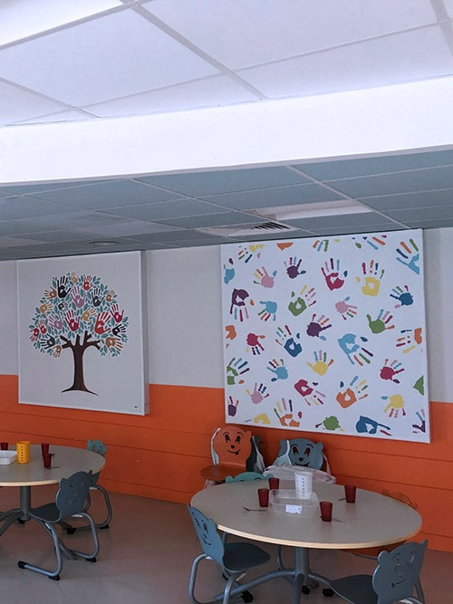 Solutions acoustiques mur et plafond ABBAson® pour équiper vos établissements de santé